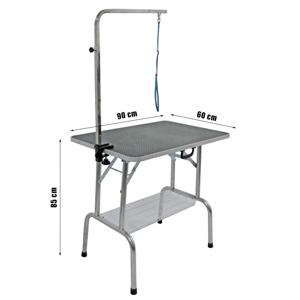 Chien Pliante Table pour Toilettage cm de 90 MpzqUVS