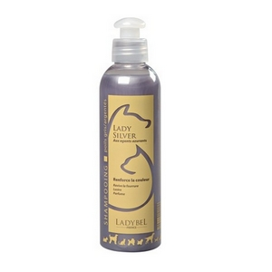 Shampoing Silver pour Chien et chat - Ladybel