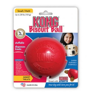 Kong Biscuit Ball - Jouet pour Chiens