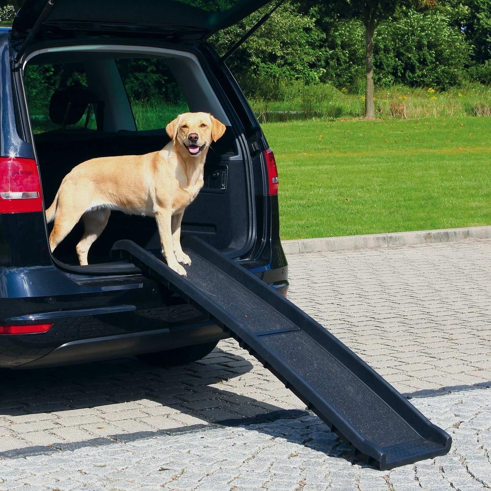 rampe de voiture pour chiens trixie la toutouniere. Black Bedroom Furniture Sets. Home Design Ideas