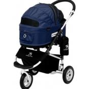 Poussette pour Chien Dome Navy Taille M- AirBuggy