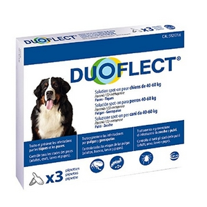 Pipettes Antiparasitaire grand Chien - Duoflect