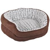 Coussin Chien Stone Suede