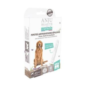 3 Pipettes Antiparasitaires pour Moyens Chiens - Anju
