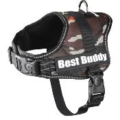 Harnais Best Buddy Camouflage pour Chiens