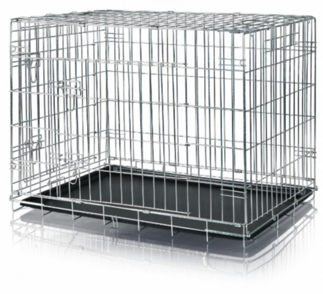 cage m tal pour chien pliante la toutouniere. Black Bedroom Furniture Sets. Home Design Ideas