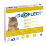 Pipettes Duoflect anti-parasitaire chat 1 à 5 kg