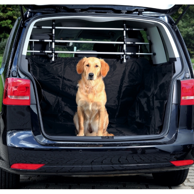housse prot ge coffre de voiture pour chien trixie la toutouniere. Black Bedroom Furniture Sets. Home Design Ideas